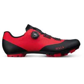 Fizik Vento Overcurve X3 MTB Schuhe rot/schwarz